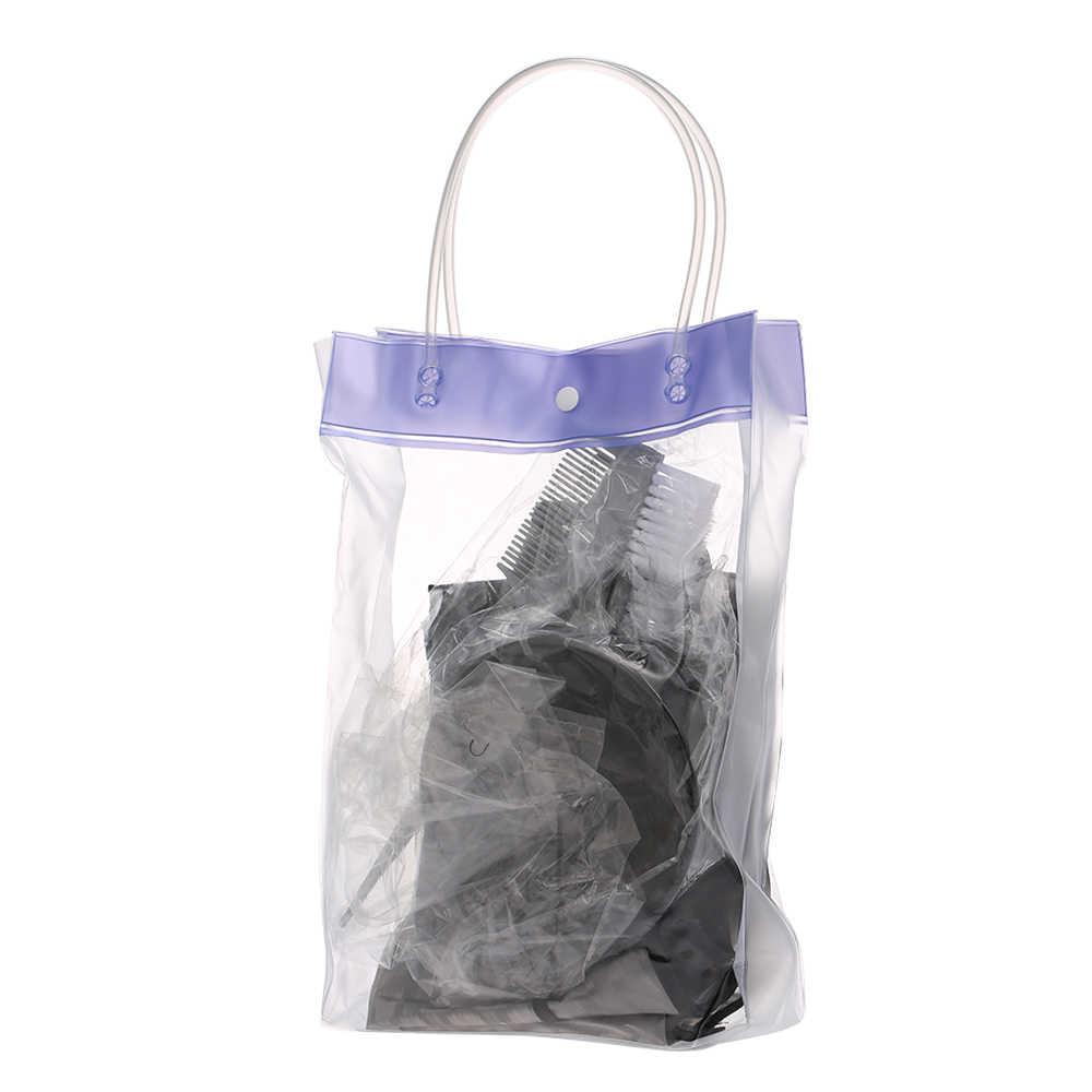Kit de colorante para el cabello teñido cuenco de tintura cepillo salón delantal oreja cubierta Kit de teñido de cabello guantes peluquería herramienta para colorear