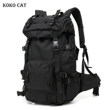50L Men Tactical Bag Military Backpack Mountaineering Men Sport Outdoor Travel Bags Molle Backpacks Hunting Camping Rucksack Tas цена