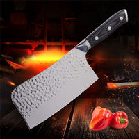 Professional Chinese Chopping Knife Sharp Kitchen Butcher Knife For Cutting Steak Chicken Bone Fish Poultry Meat Cooking Tools