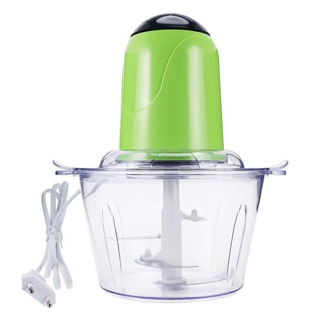 electric grinder kitchen cotton rugs 2l multifunctional food processor meat blender juicer mixer fruit for 2