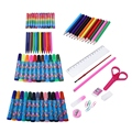 86 шт./компл.  детские развивающие игрушки  набор инструментов для рисования  граффити  игрушки  акварельная ручка  набор креативных принадле...