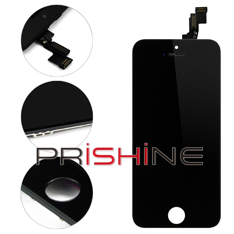 10 PCS/Lot display For Iphone 5S andTouch Screen digitizer Assembly creen digitizer assemably DHL Free Shipping