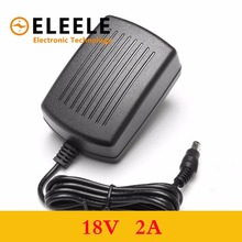 1PCS 18V 2A AC 100V-240V Converter Adapter DC 2000mA Power Supply EU Plug 5.5mm x 2.1-2.5mm  PN35