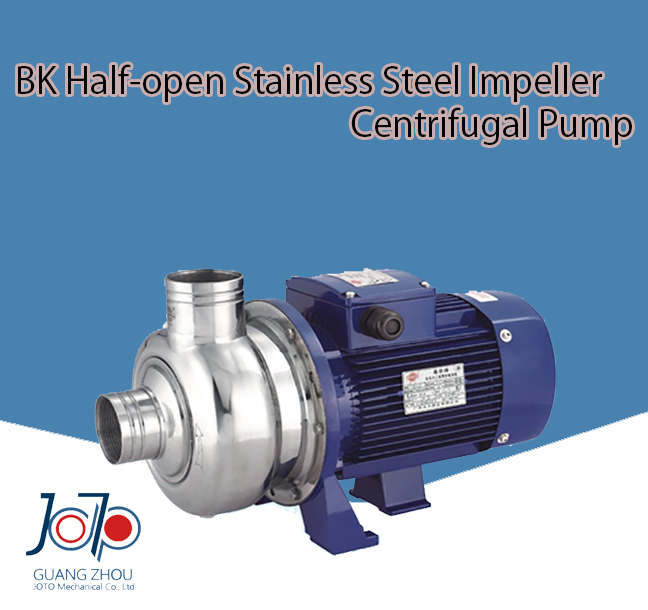 BK120D 220V 50Hz Single Phase Small Stainless Steel Dishwasher Use Solid Impurities Centrifugal Water Pump