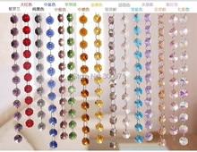 Hilo de guirnalda de cristal para boda, 500 metros, hilo de cuentas de cristal, Envío Gratis