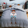 4 Pcs Set Kids Children Bedding Twin Full Queen Size Duvet Cover Sheet Pillowcases Sets