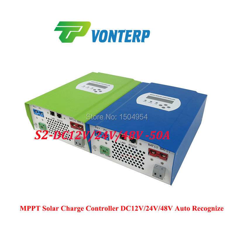 48V 50A  Solar Tracking System Charge Controller/ Intelligent 12V 24V 48V 50A MPPT Solar Controller Charger With DC Output 10a 12v24v solar charge controller intelligent power system
