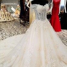 f32ee261d3 LS01254 piękna suknia ślubna dla księżniczki off ramię sweetheart bridal  ślubnej togi 2018 z długim trenem w lato prawdziwa cena