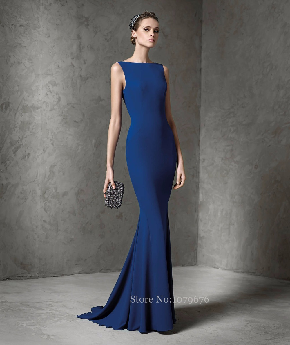 Boat Neck Evening Dress_Evening Dresses_dressesss