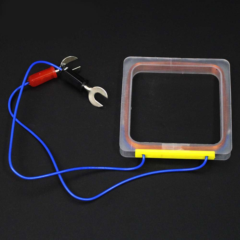 Square Coil Electromagnetic Induction Lenzs Law Instruments Physics Experiment EquipmentSquare Coil Electromagnetic Induction Lenzs Law Instruments Physics Experiment Equipment