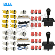 Jamma аркадный Шкаф DIY Kit Нулевая задержка USB аркадный контроллер для подключения к ПК Джойстик в американском стиле 4/8 кнопки