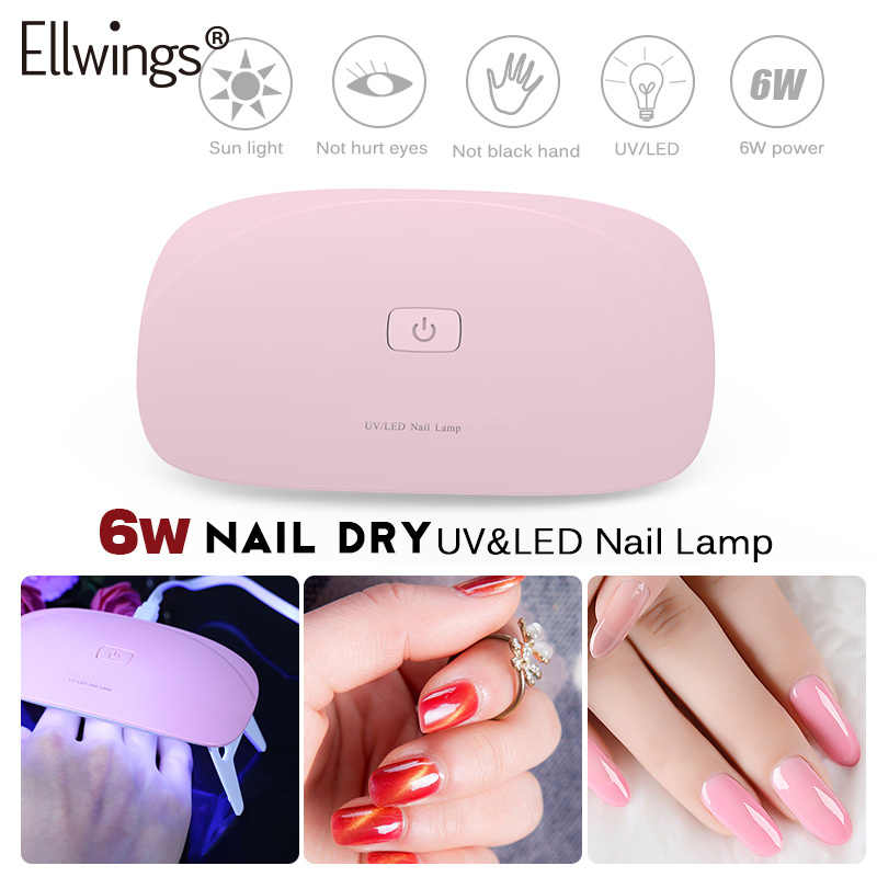 Detail Feedback Questions About Ellwings 6w Mini Uv Lamp Nail Dryer