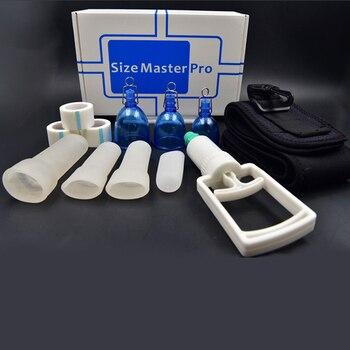 Tamaño Master Pro MAX Pene Masculino Extensor Agrandamiento Suspensión Bomba De Mejora Con Soporte De Vacío SizeMaster