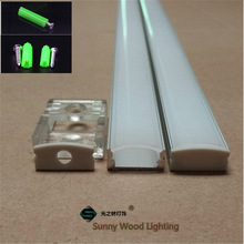 Strip Light-Tape Led-Aluminium-Profile Milky/transparent-Cover Led-Bar with for 12mm