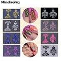 Hot 108pcs/sheet 8colors optional 3d Flowers Nail Art Stickers Adhesive Metallic UV Gel Polish Nail Tips Decals Decorations