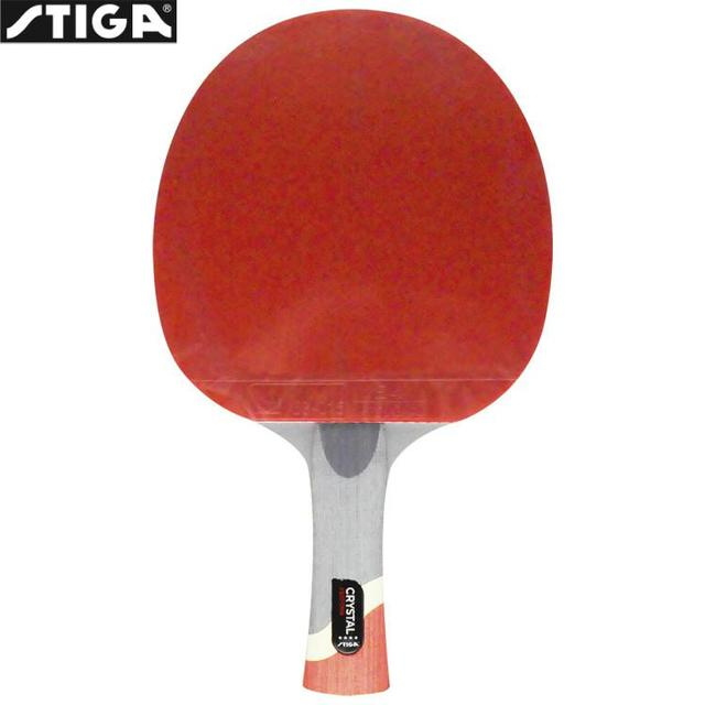 Genuine Stiga PRO CRYSTAL Quality 4 stars Table Tennis Racket Ping Pong  Paddle 7-ply wood ITTF Approved Rubber for Tournament 2dcac37ab