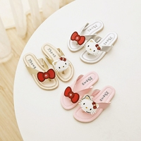 14cm 22 5cm Summer New Style Children Sandals Girls Princess Shoes Flip Flops Beach Shoes Girls