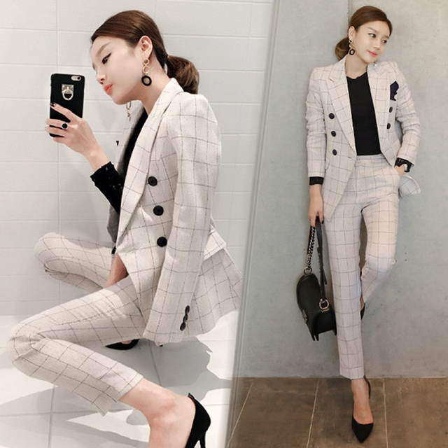 Womens formal suits Workwear office uniform designs women