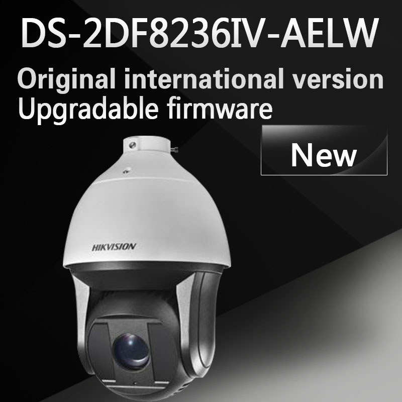 free shipping DS-2DF8236IV-AELW English version 2MP Ultra WDR Smart PTZ Camera 36X Optical Zoom  with wiper hikvision ds 2de7230iw ae english version 2mp 1080p ip camera ptz camera 4 3mm 129mm 30x zoom support ezviz ip66 outdoor poe