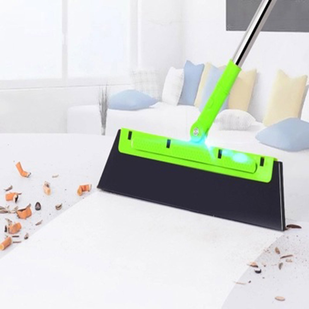 Kitchen-Tools Sweeper Rotate-Connector Magic-Broom Cleaning Rubber Wiper-Blade Glass title=