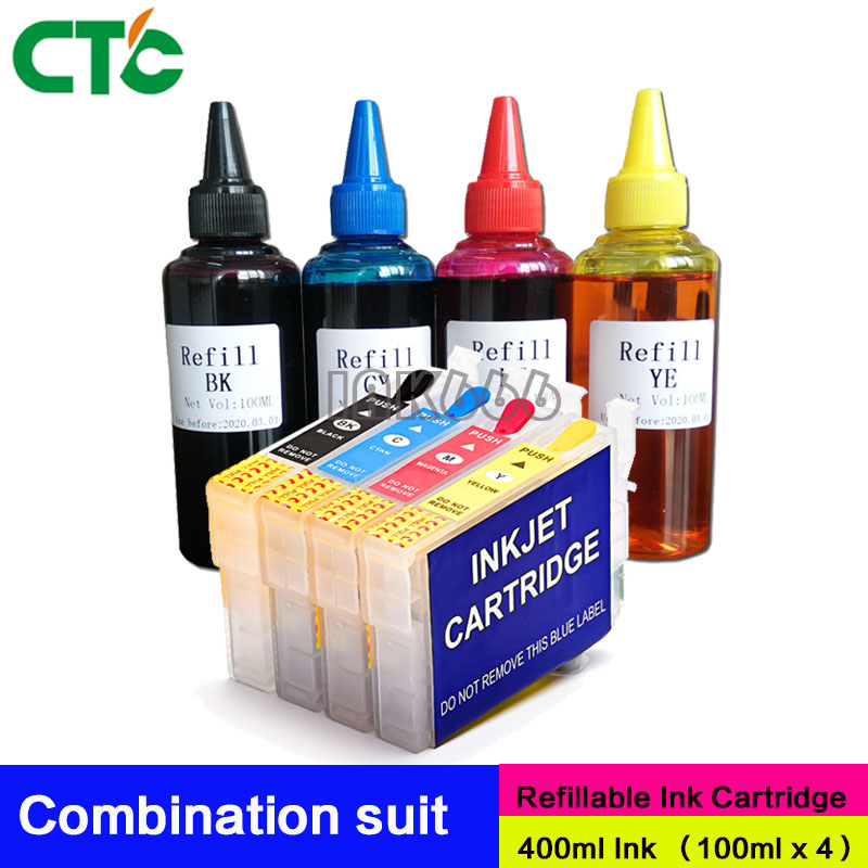 29XL Refillable Ink Cartridges Compitalbe For Epson XP-235 XP-245 XP-247 XP-332 XP-335 XP-342 XP-345 XP-255 XP-435 XP-442 XP-445 цена и фото