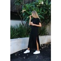 Summer Casual Long T Shirt Dress Women Fashion Kyliejenner Sezy Evening Party Black Shift Dresses Plus
