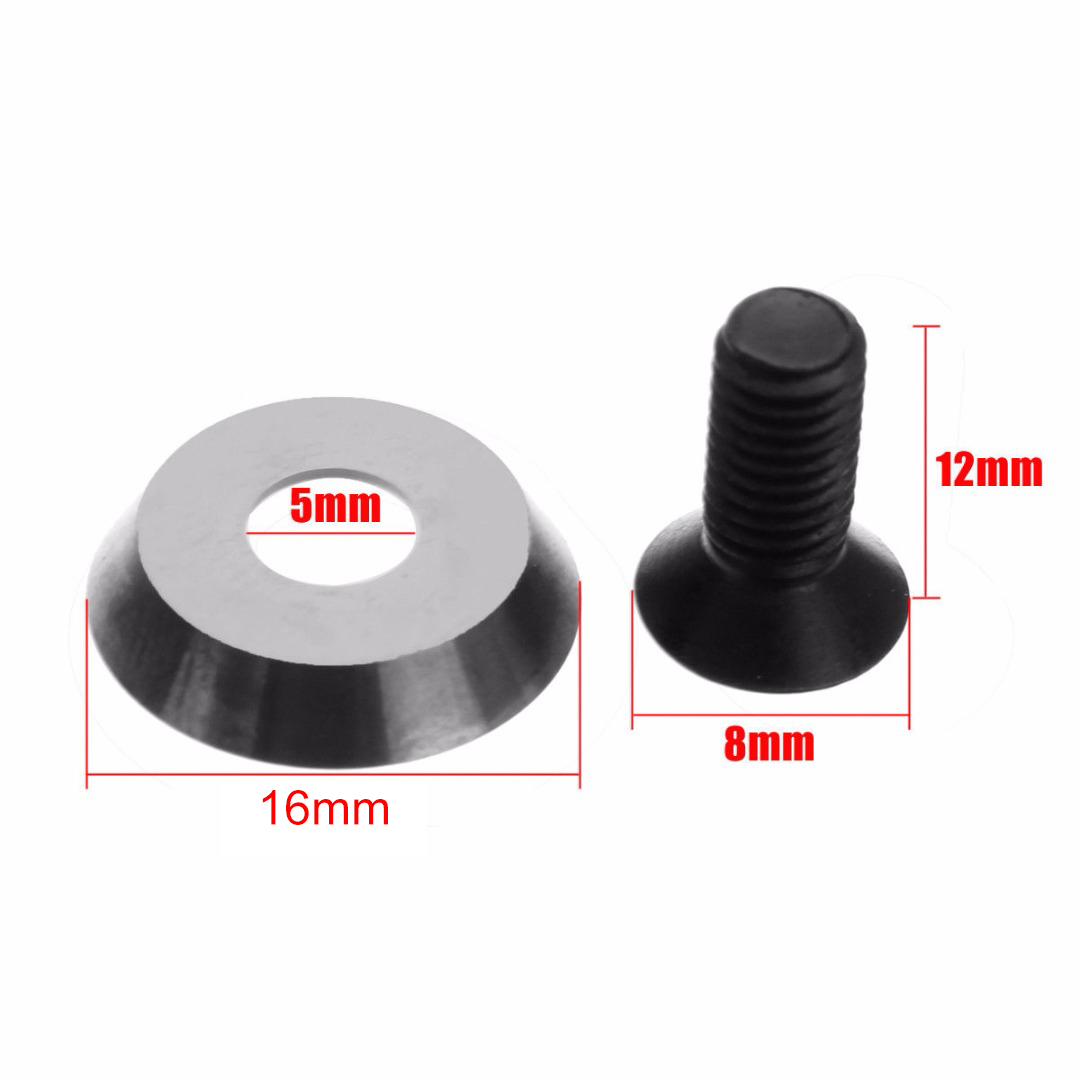 Round Carbide Insert 16mm 16x3-30 Degree Carbide Insert Cutter Finisher Wood Turning Lathe Tool With Screw Mayitr