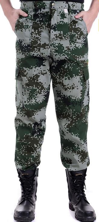 2019 Outdoor Men Camouflage Transpirable Verano Pantalones de secado rápido Pantalones de senderismo de alta calidad Pantalón