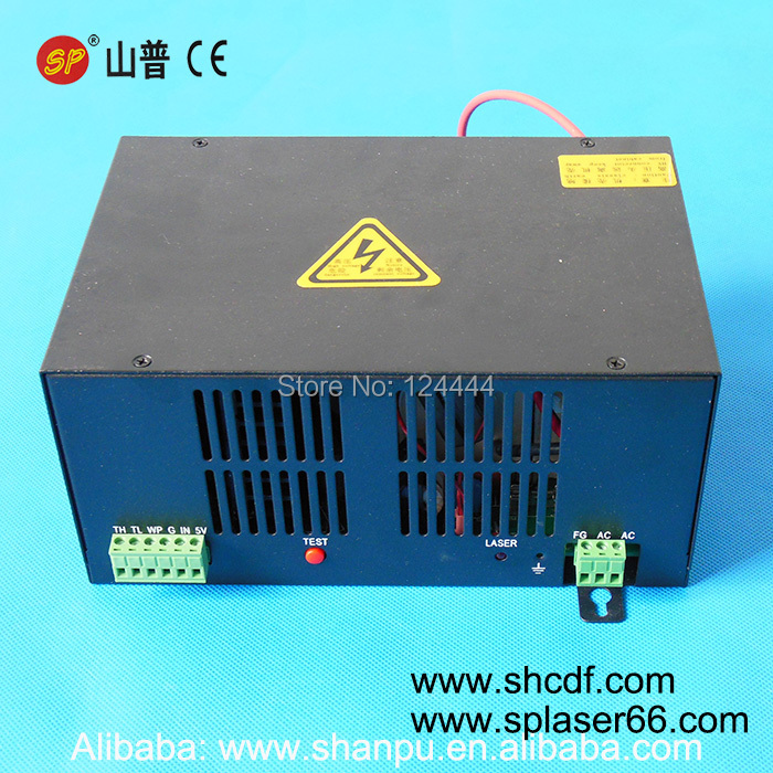 50W CO2 laser power supply for laser tube 50W 1000mm length for Co2 laser engraving machines co2 laser power supply 50w for co2 laser tube 50w for co2 laser cutting machine 50w