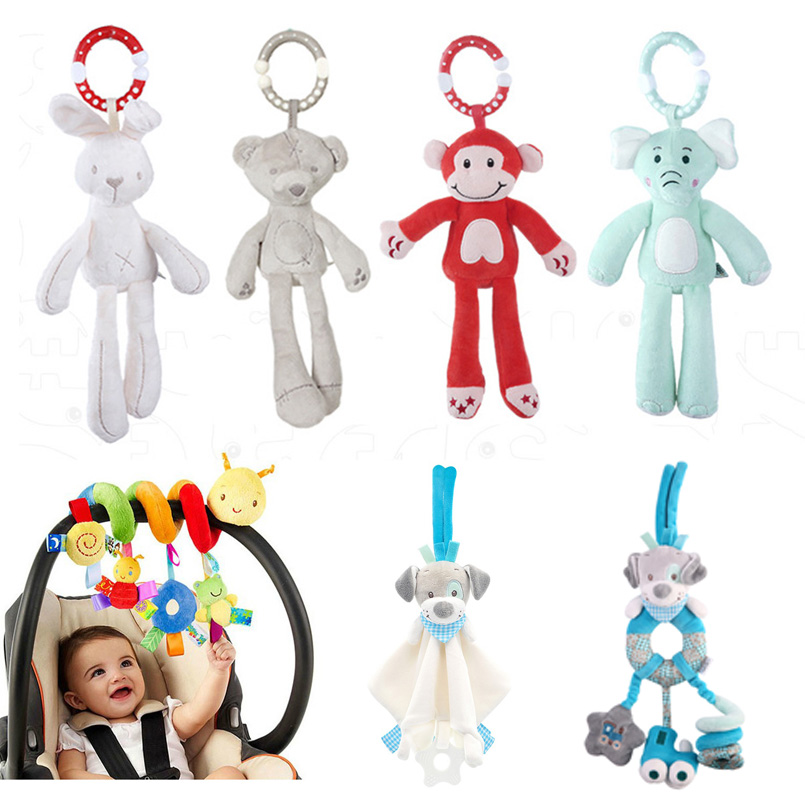 <font><b>Toys</b></font> for Toddlers Musical <font><b>Baby</b></font> Rattles/Moblie Stroller <font><b>Toy</b></font> Plush Cartoon Newborn/Educational <font><b>Toys</b></font> for <font><b>Baby</b></font> <font><b>Toys</b></font> 0-12 Months image