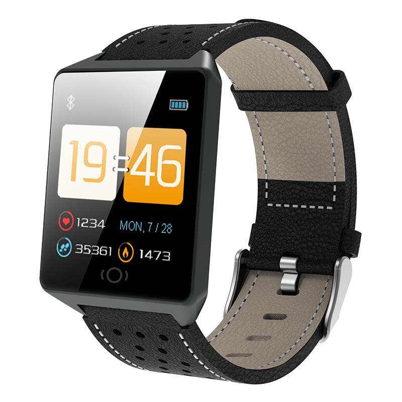 Bluetooth Smart Watches For Men Waterproof Ip67 Sports Camera Call Leather Fitness Smart Watch Men Women For Iphone Android Ios Digital Watches Watches