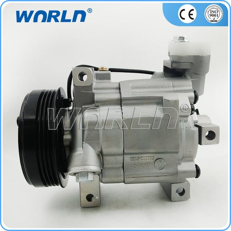 Auto AC Compressor Pump DKV10R 4PK for Subaru Impreza 1.5 2.0 2.5 Forester 73111FG000 73111FG001 73111FG002 506021-7561 ac compressor dks16h 9260054n00 9034045010 for patrol y60 td42 tb42 rb30