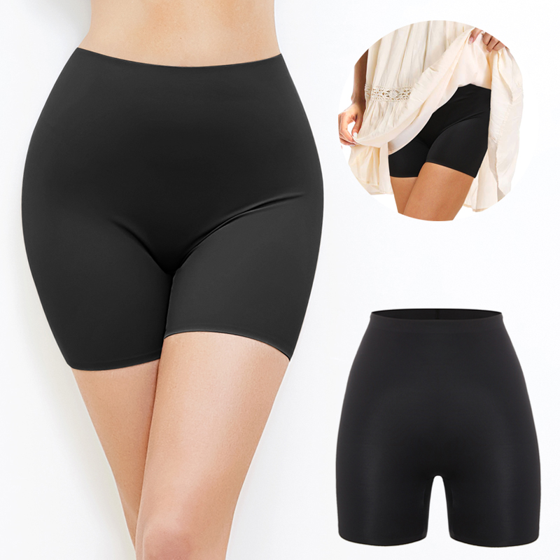 Safety Pants Anti Chafing Femme Invisible Shorts Under Skirt Ladies Seamless Underwear Ultra Thin Comfortable Control Panties