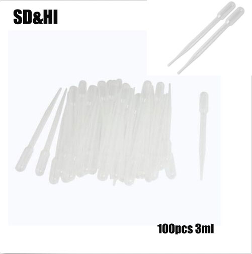 ᗕ Popular 3ml disposable eye dropper and get free shipping