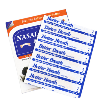 (55x16mm)450pcs=15boxes/lot Non Woven Fabric better Breathe Stop Snoring Disposable nasal strips to breathe right