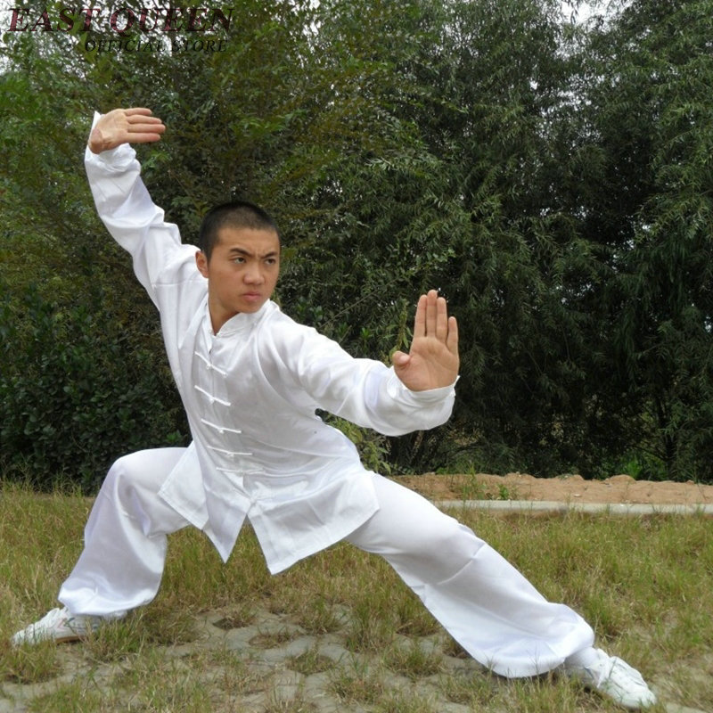Wushu Clothing Chi Kung Fu Uniform Male Chinese Kung Fu Clothing Shaolin Clothes Wushu Uniform AA429