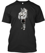 Space Cat / Katze Astronaut Stylisches T-Shirt Harajuku Tops t shirt Fashion Classic Unique free shipping