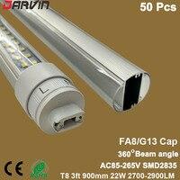 סגנון חדש! 3ft T8 Led אורות צינור צדדים כפולים 900 מ
