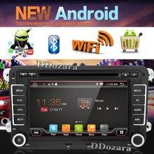 2 Din Araba dvd radyo Çalar 7 inç Android 6.0 Quad core Volkswagen VW Golf Tiguan için