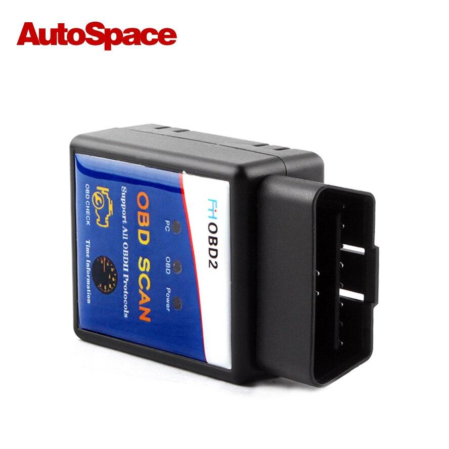 100% PIC18F25K80 Best Chip ELM327 V1.5 Bluetooth ODB 2 ODB2 Diagnostic-Tool Universal for Pertol Diesel Car Coder Reader Scanner
