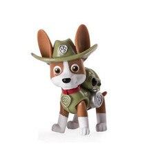 Paw patrol toys track Dog patrulla canina Toy Action Figure model Children birthday gift