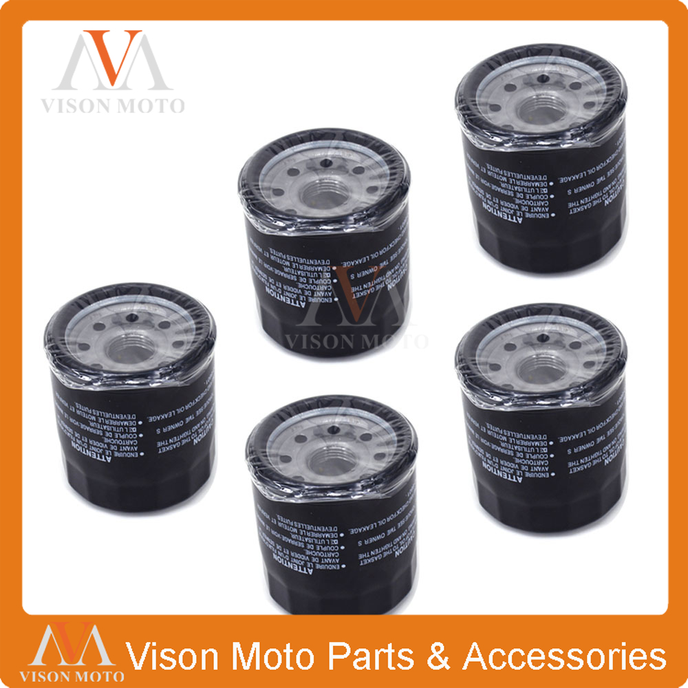 5 Piezas De La Motocicleta Filtro De Aceite Limpiador Para Honda Pc800 Pc Vfr 800 Vfr Cbr900 Cbr 900 Cb1000 Vtr Cb Xl 1000 Cbr1000 Vtr1000 Xl1000 úLtima TecnologíA
