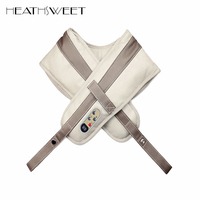 Healthsweet ELECTRIC SHOULDER MASSAGER Kneading Heating Function Body Massager Home Electrical Shiatsu Back Neck Massage Shawl