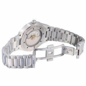 Image 5 - Rafa Tiger/RT biznesmenów najwyższej klasy ekskluzywna sukienka zegarek mechanizm automatyczny mężczyzna RGA8015 316L z litej stali Super świecenia