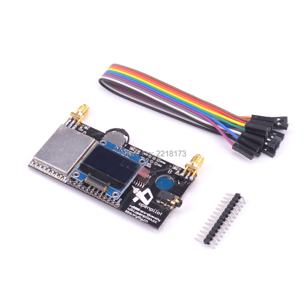 1pcs FPV 5.8G 40CH RX5808 Pro Diversity FPV Receiver with OLED Display DIY Part For FPV Racing Quadcopter Multicopter diy rx5808 5 8g 40ch diversity fpv receiver with oled display for fpv racer quad
