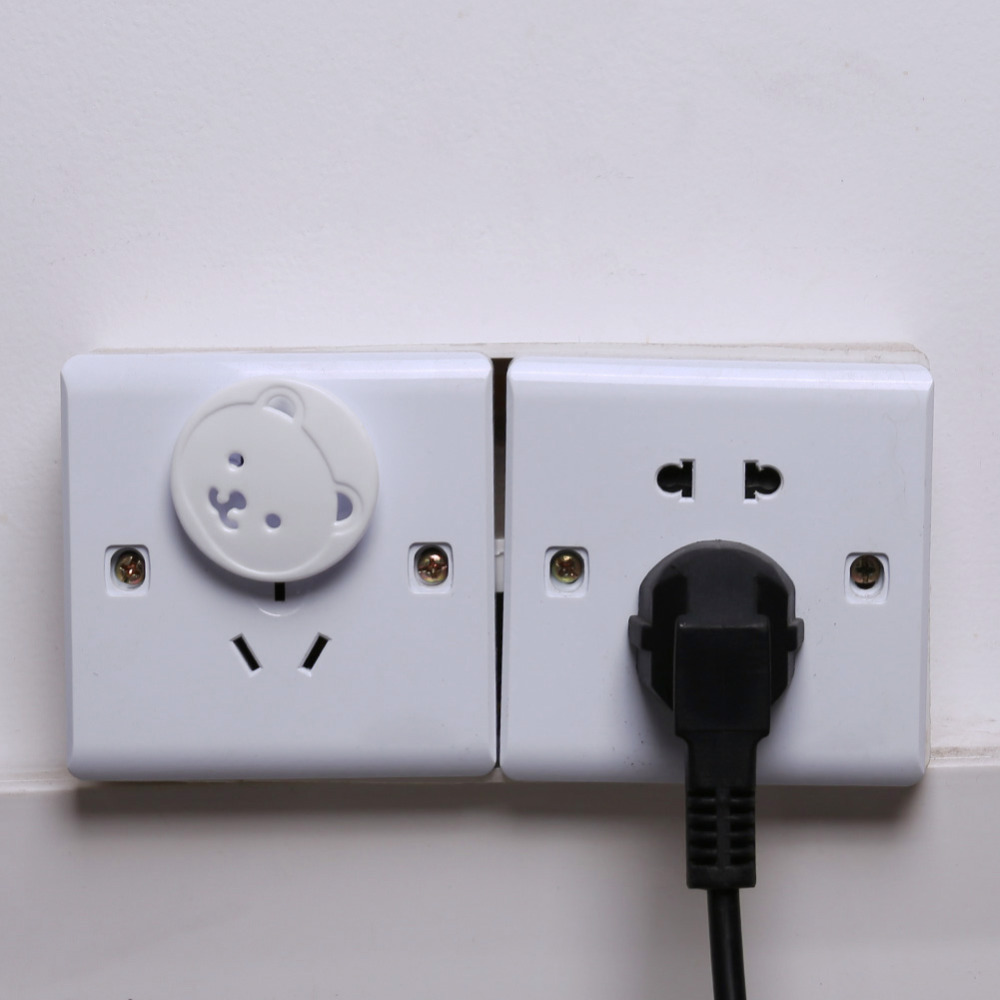 20 Pc Safety Outlet Plug Protector Covers Child Baby Proof Electric Shock Guard