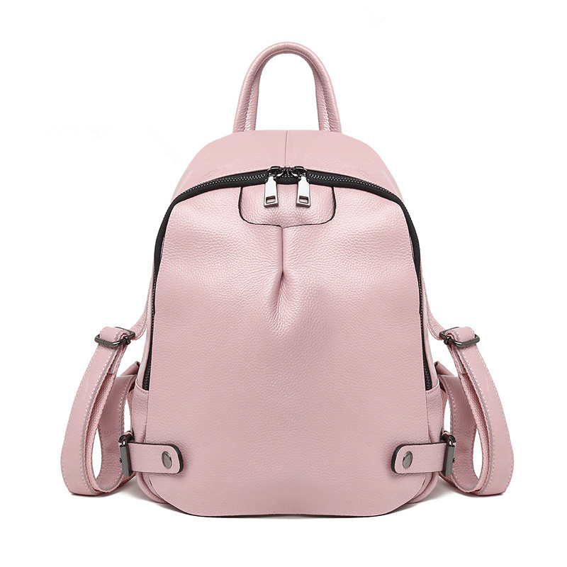 Fashion Genuine Leather Women s Backpacks Women Casual Style Bag women s leather bag Ita backpack