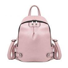 Модные натуральная кожа женские рюкзаки женские повседневные Стиль Сумка женская кожаная сумка ITA рюкзак