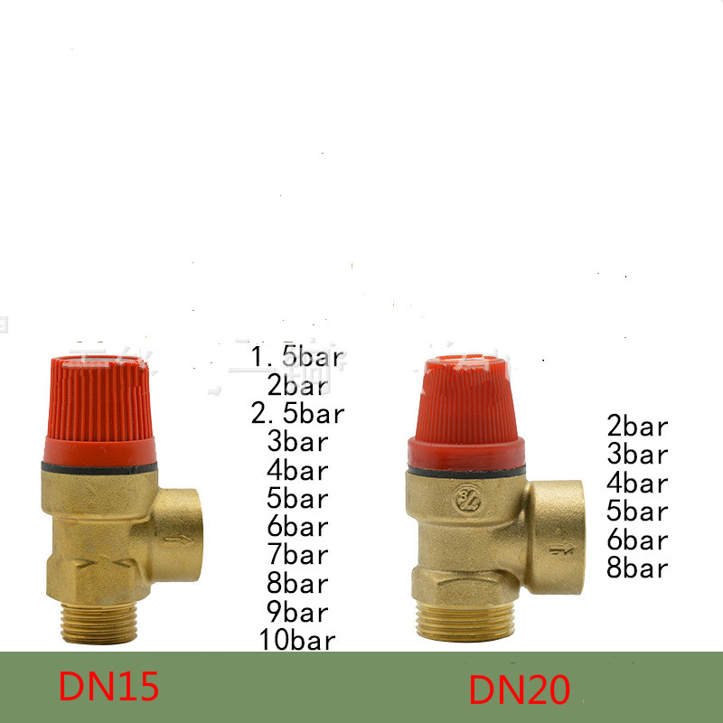 brass valve 1/2 DN15 3/4 DN20 3-10 bar safety valve relief valve for solar water heater xh m604 battery lithium battery charge control module battery charging control switch 6 60v