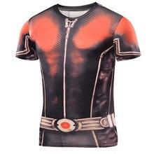 2016 Captain America Civil War T 3D Men's Shirts Men Compression Avengers Iron Man Costumes Fitness Clothes Male Tops